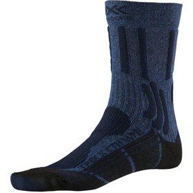 X-Socks Trek X CTN Calcetines Mujer, midnight blue melange/opal black